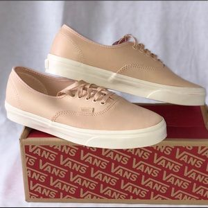 Vans Authentic DX (Veggie Tan Leather) Tan NWT